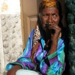 Cabo Verde, Mujer, anciana, África, Soplalebeche
