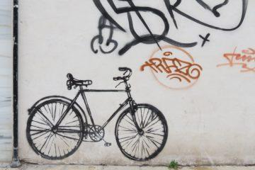 Bicicletas con mensaje