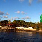 Joao Pessoa. Pequeño embarcadero en el litoral del río Paraíba