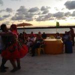 Jacaré. Maria Bonita y Lampiao bailando