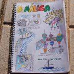 Cuadernos de Viaje, Málaga, Andalucía, sketch, dibujo, viajar, soplalebeche