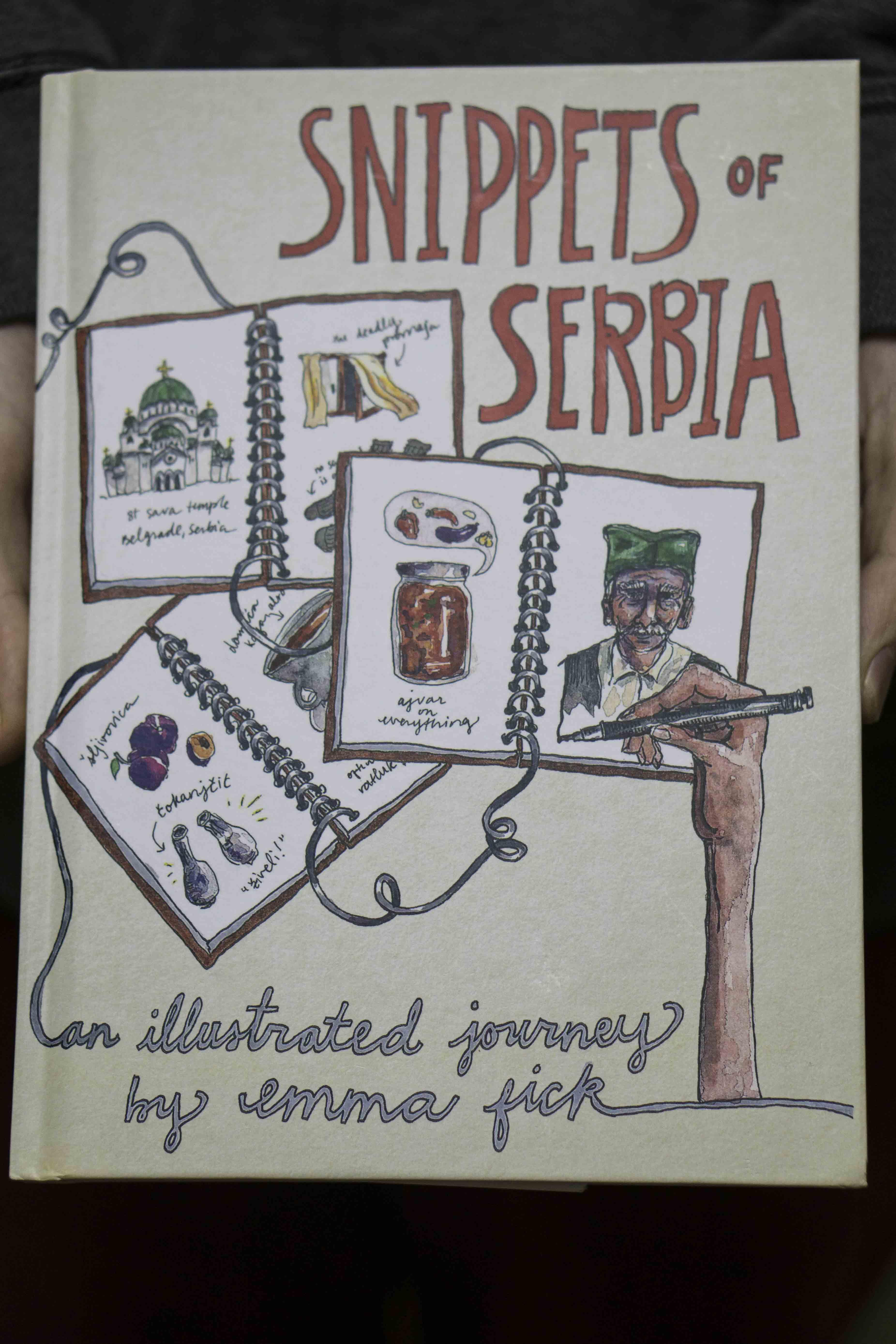Snippets Serbia, Cuadernos de viaje, Soplalabeche