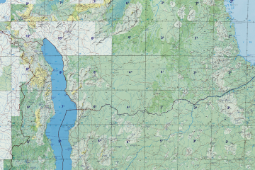 mapa tanzania, malawi, mozambique, africa, soplalebeche