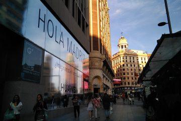 La Gran Vía de Madrid - Soplalebeche